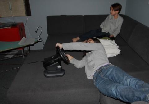 gran turismo 5 ergonomics test, discomfort
