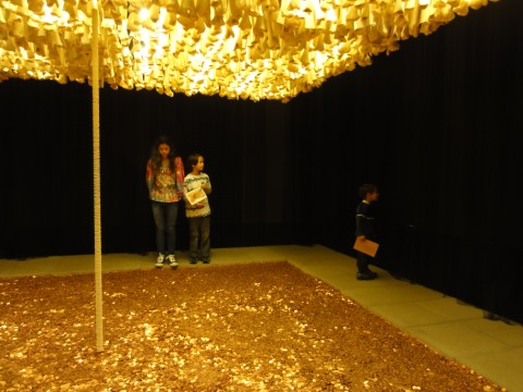 blanton museum of art pennies bones and wafers