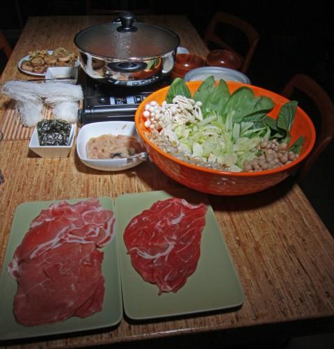 shabu shabu nabe nabemono meal