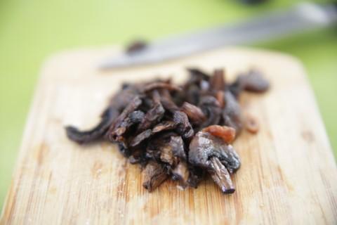 baked mushroom crisps like bacon