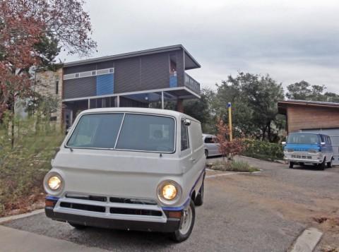 1967 dodge hotrod van a100 mopar