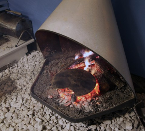 wood fired pizza fireplace wimberley