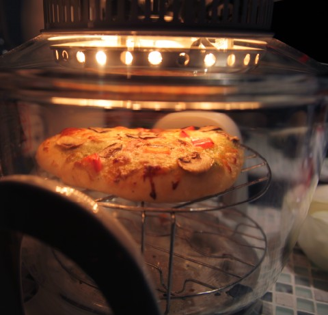 magic chef halogen convection oven pizza