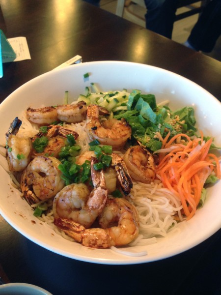 grilled shrimp pho-natic phonatic austin