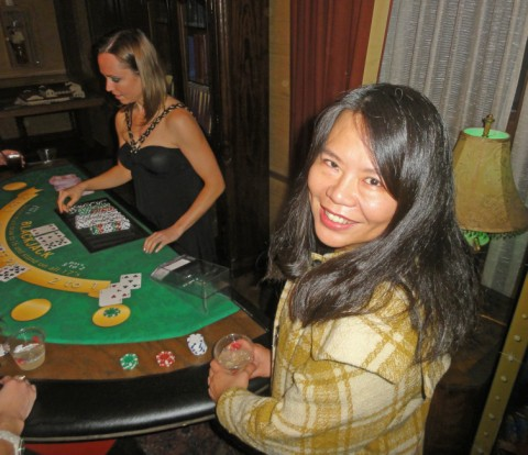 black jack table at scottish rite theater austin