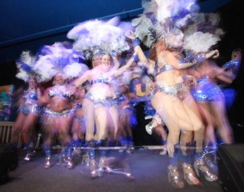 austin samba school dancers carnaval 2013