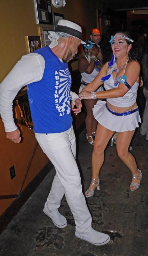 samba dance party austin 2014