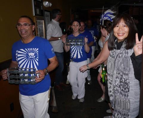 austin samba school drummers