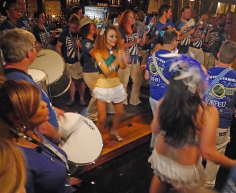 backstage austin samba school pre party