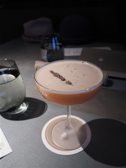 lav austin cocktail with earl gray vodka