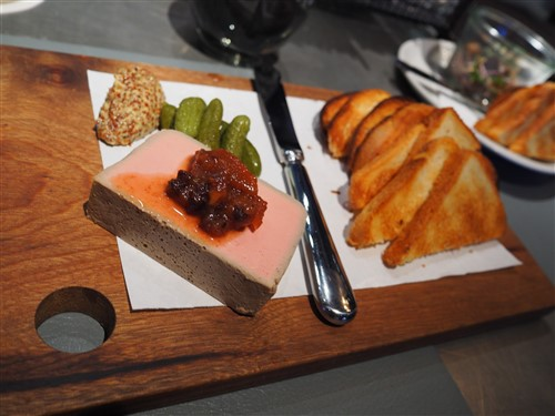 LaV pate austin french food