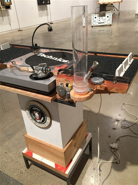dj potus bong tom sachs art