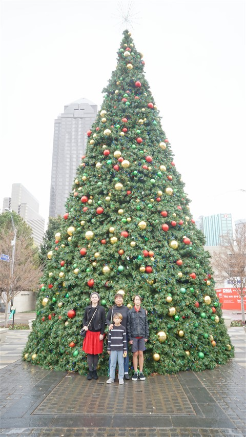christmas tree klyde warren park