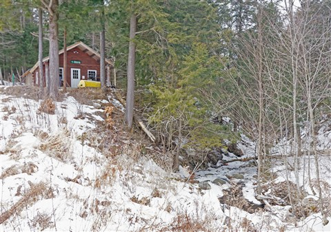 hardwick trail cabin vt