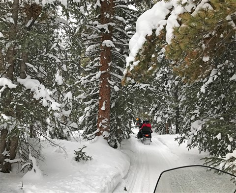 breckenridge snowmobile tour