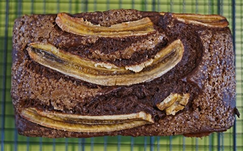 blackout chocolate banana bread from bon appetit