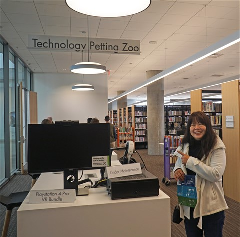 Austin Library Technology Petting Zoo