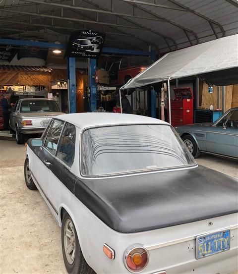 vintage bmw austin