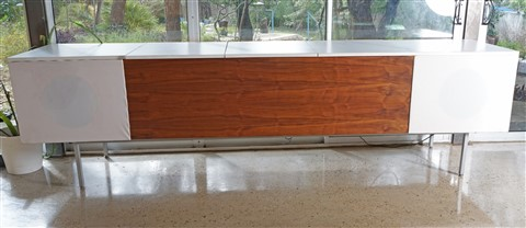 midcentury modern stereo case study house 21 pierre koenig replica