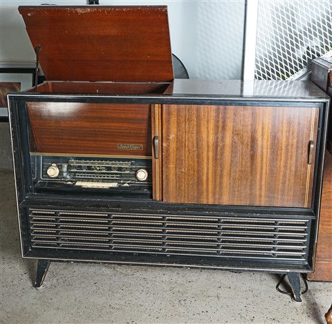 MCM Telefunken stereo console