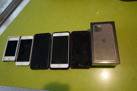 iphone progression to 11 pro
