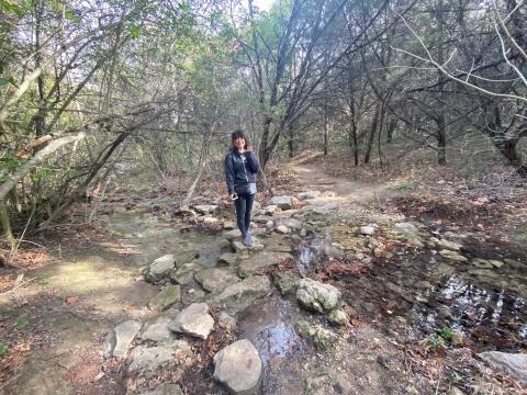 wild basin preserve creek austin wetlake hiking