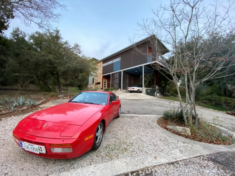 porsche 951 944 turbo guards red austin tx