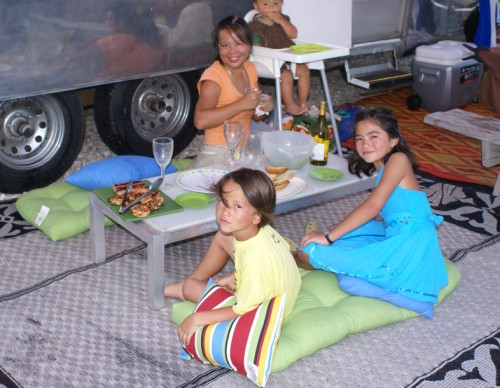 airstream dinner