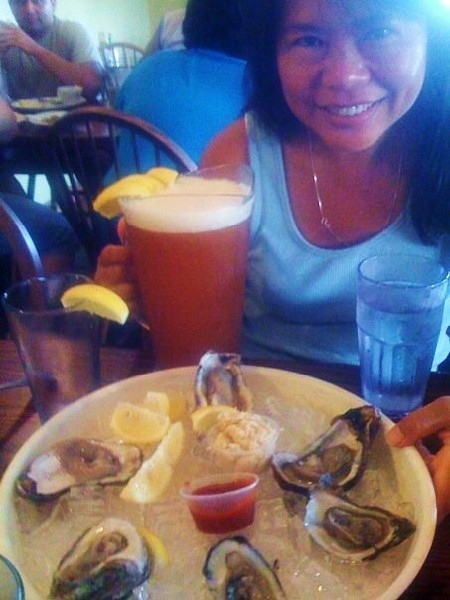 south padre island brewing company oysters
