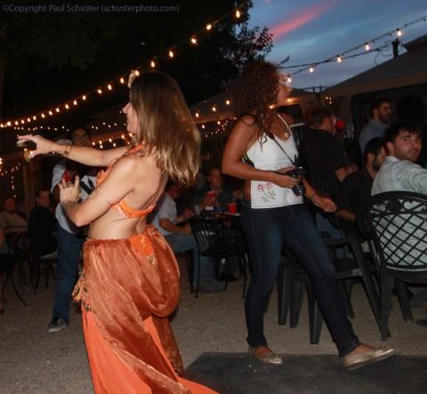 belly dancing at phara's