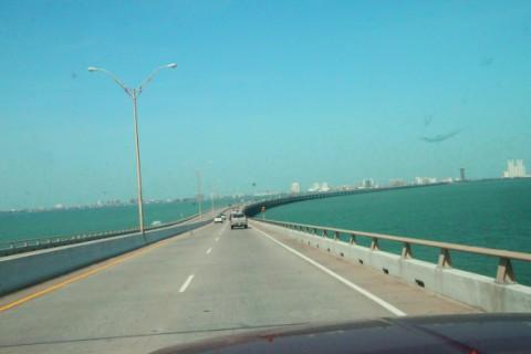 bridge to south padre island