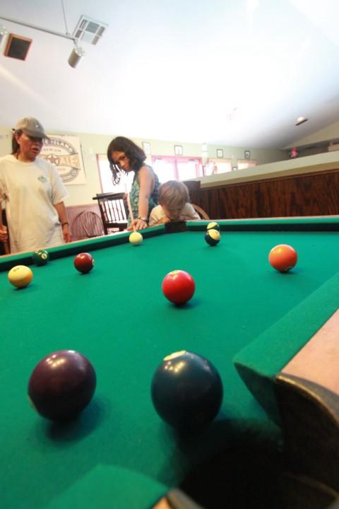 pool hall kids