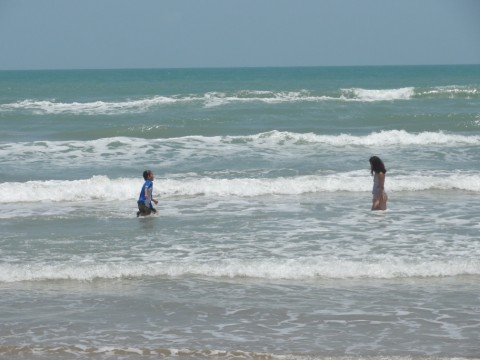 south padre island blue waters
