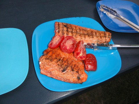 grilled sockeye salmon in new braunfels