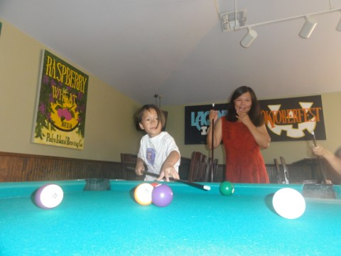 pool table south padre island brewing company