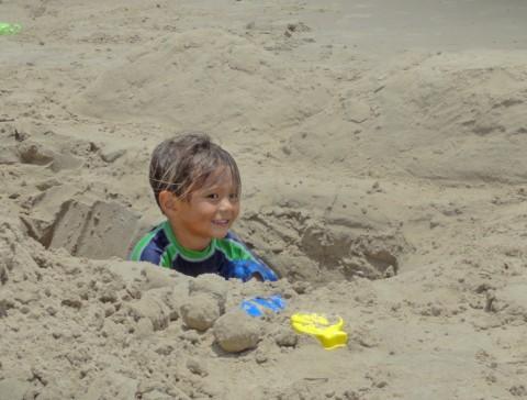 spi beach gopher hole tx south padre island texas