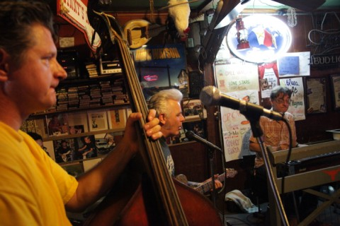 double bass for dale watson country music austin
