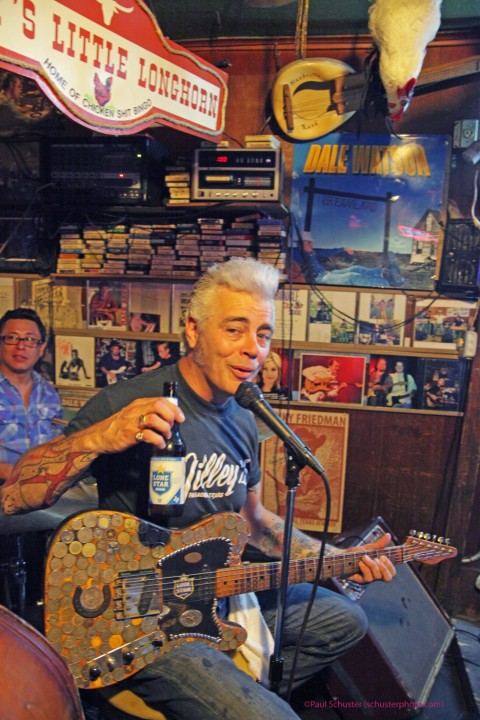 $2 lonestars with dale watson at ginny's little longhorn saloon austin