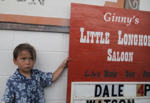 sad boy at chicken shit bingo ginny's little longhorn saloon