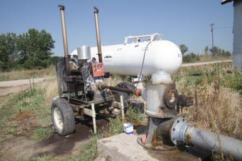 nebraska drought irrigation pump