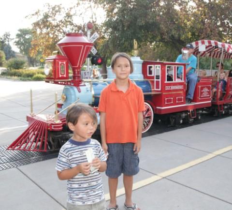 childrens zoo lincoln nebraska train