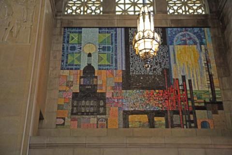 nebraska stae capitol building modern art charles clement