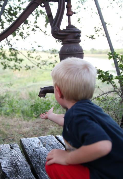 nebraska fresh well water drop