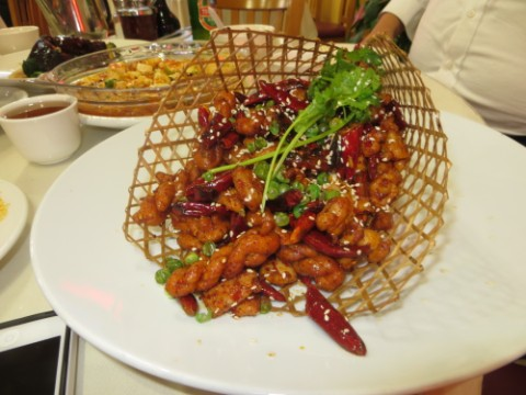 twisted chicken at Yi Yuan Milbrae