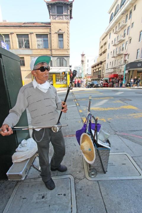 chinese violin san francisco street musician