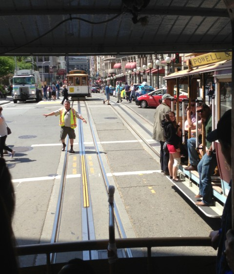 streetcar came off the cable san francisco