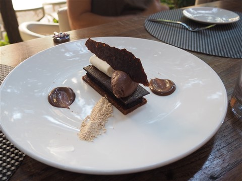 dessert at trace w austin