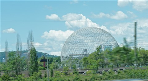 buckminster fuller geodesic dome for 1967 worlds expo montreal
