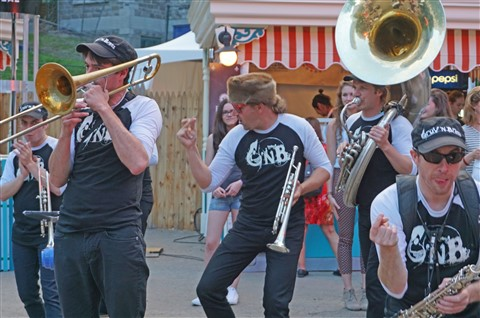 GNB band groove and brass band montreal jazz festival 2015