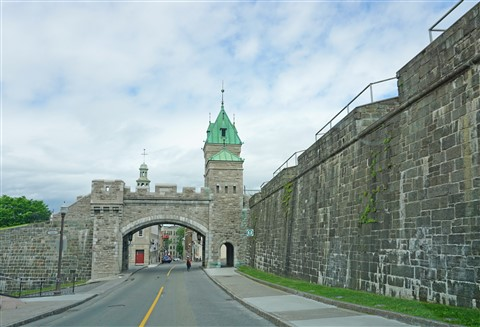 quebec city walled fortified
